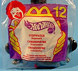 Hot Wheels Stopwatch #12 - Happy Meal Toy - 2000 - Mip
