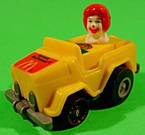 Ronald Mcdonald Car - 1985 - Hong Kong - Np