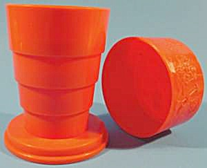 Mcdonald's Collapsible Drinking Glass - 1990 - Plastic