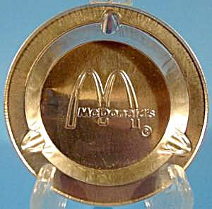 McDonald's Fast Food Aluminum Ashtray - 1970's (Image1)