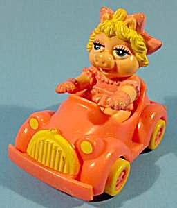 Miss Piggy In Car - 1987 - Baby Muppets - Mcdonalds
