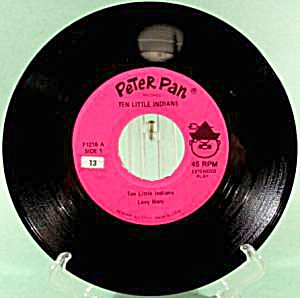 Ten Little Indians - Peter Pan Label