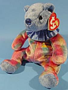 September TY Birthday Beanie Bear - Sapphire (Image1)