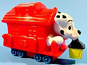 102 Dalmatians - Train Caboose - Disney - Mip