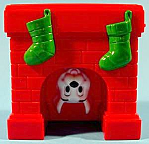 Disney Windup Toy - Puppy Stuck In Chimney - Mip