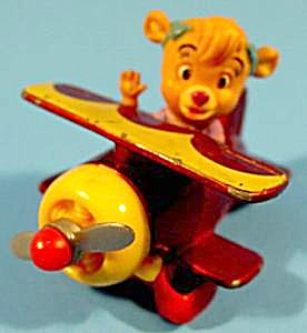 Molly's Biplane - 1990 - Tail Spin Series - Diecast