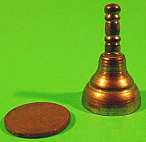 Doll House Miniature Brass Bell - Vintage (Image1)