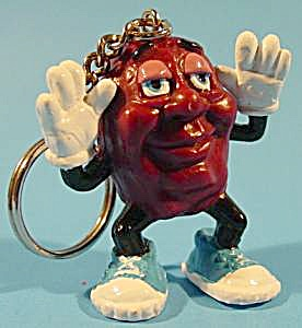 Justin X. Grape Keychain - 1987 - California Raisin