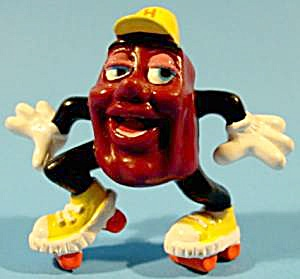 Rollin' Rollo On Skates - 1988 - California Raisin
