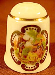 Courting Scene Thimble - Remler - W. Germany