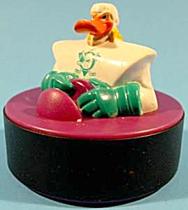 Nosedive Purple Base Mighty Duck Puck - 1997 - Np