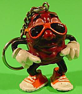 California Raisin Keychain - Ben Indasun Conga Dancer