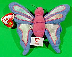 Teenie Beanie Butterfly - Flitter - Retired 1999