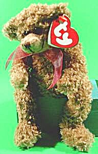 Ty Beanie Bear - Berkley - Curly Hair - 1993