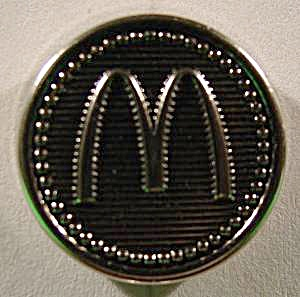 Mcdonalds Blazer Buttons - Set Of 8