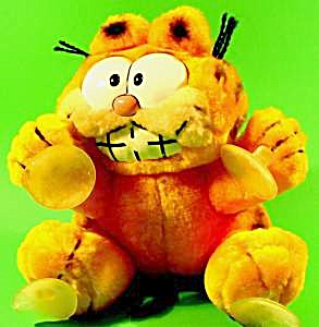 Garfield Dakin Plush Window Cling Vintage 1978