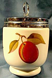 Royal Worcester Egg Coddler Evesham Pattern
