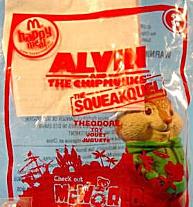 Alvin And The Chipmunks - 2010 Theodore - Happy Meal