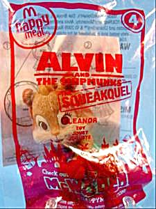 Alvin And The Chipmunks - 2010 Eleanor - Happy Meal