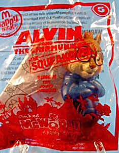 Alvin And The Chipmunks - 2010 Simon - Happy Meal