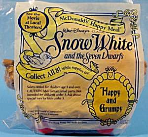Snow White - 1992 - Happy And Grumpy On Seesaw Car