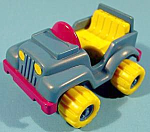 Garfield's 4 Wheeler Car - 1989 - Mcdonald's