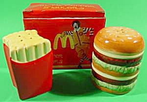 Mcdonalds Salt And Pepper Shakers - Nib