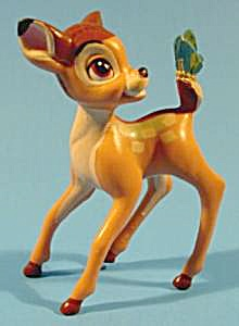 Bambi With Butterfly - 1988 - Happy Meal Toy
