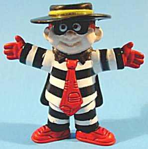 Mcdonald's Happy Meal Toy - 1995 - Hamburgler - Np