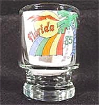 Barware ~ Souvenir Shot Glass ~ Florida 1985