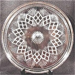 Click to view larger image of Westmoreland Cake Plate Tray - Fan with Split Diamond (Image1)