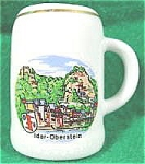 Click here to enlarge image and see more about item AAA133: Porcelain Souvenir Mug Toothpick ~ Idar-Oberstein
