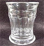 Shot Glass ~ Early Pattern ~ 10 Arched Columns