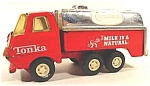 Click here to enlarge image and see more about item AAA154: Diecast Tonka Carnation Milk Truck