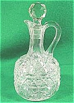 Click here to enlarge image and see more about item AAA172: Early American Pattern Glass Cruet