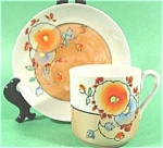 Click here to enlarge image and see more about item AAA312: Oriental Lustre - Childrens Cup and Saucer Set - Japan