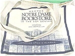 Click here to enlarge image and see more about item AAA371: Notre Dame Canvas Book Bag