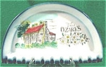 Click here to enlarge image and see more about item AAA38: Souvenir Ceramic Ashtray ~ Ozarks ~