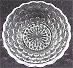Click here to enlarge image and see more about item AAA401: Anchor Hocking - Bubble Crystal Berry Bowl