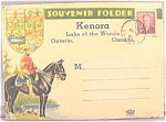 Click here to enlarge image and see more about item AAA469: Souvenir Post Card Series ~ Kenora Ontario Canada