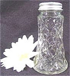 Click here to enlarge image and see more about item AAA487: Kitchen Collectibles ~ Waffle Pattern Shaker ~ Hocking