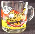 Garfield Glass Mug - McDonald's - 1978