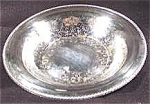 Click here to enlarge image and see more about item AAA608: Silverplate Bowl - Rogers - Embossed