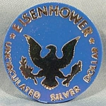 Click here to enlarge image and see more about item AAA615: Political ~ Eisenhower Silver Dollar Token