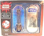 Click here to enlarge image and see more about item AAA627: Star Wars Diecast Watch ~ R2 D2 Episode 1