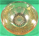 Click here to enlarge image and see more about item AAA638: Depression Glass - Round Robin Iridescent Berry Bowls