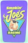 Click here to enlarge image and see more about item AAA667: Camel Smokin Joes Racing Tin with Matches and Catalog