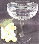 Click here to enlarge image and see more about item AAA682: Stemware Cocktail or Sherbet Glasses - Pair