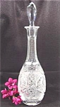 Brilliant Cut Crystal Decanter - Faceted Stopper