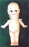 Click here to enlarge image and see more about item AAA6: Bisque Kewpie Doll - 5 inch - Vintage